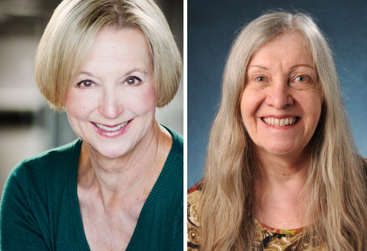 Colorado Shakespeare Festival actor Anne Sandoe and Shakespeare scholar Shirley Carnahan