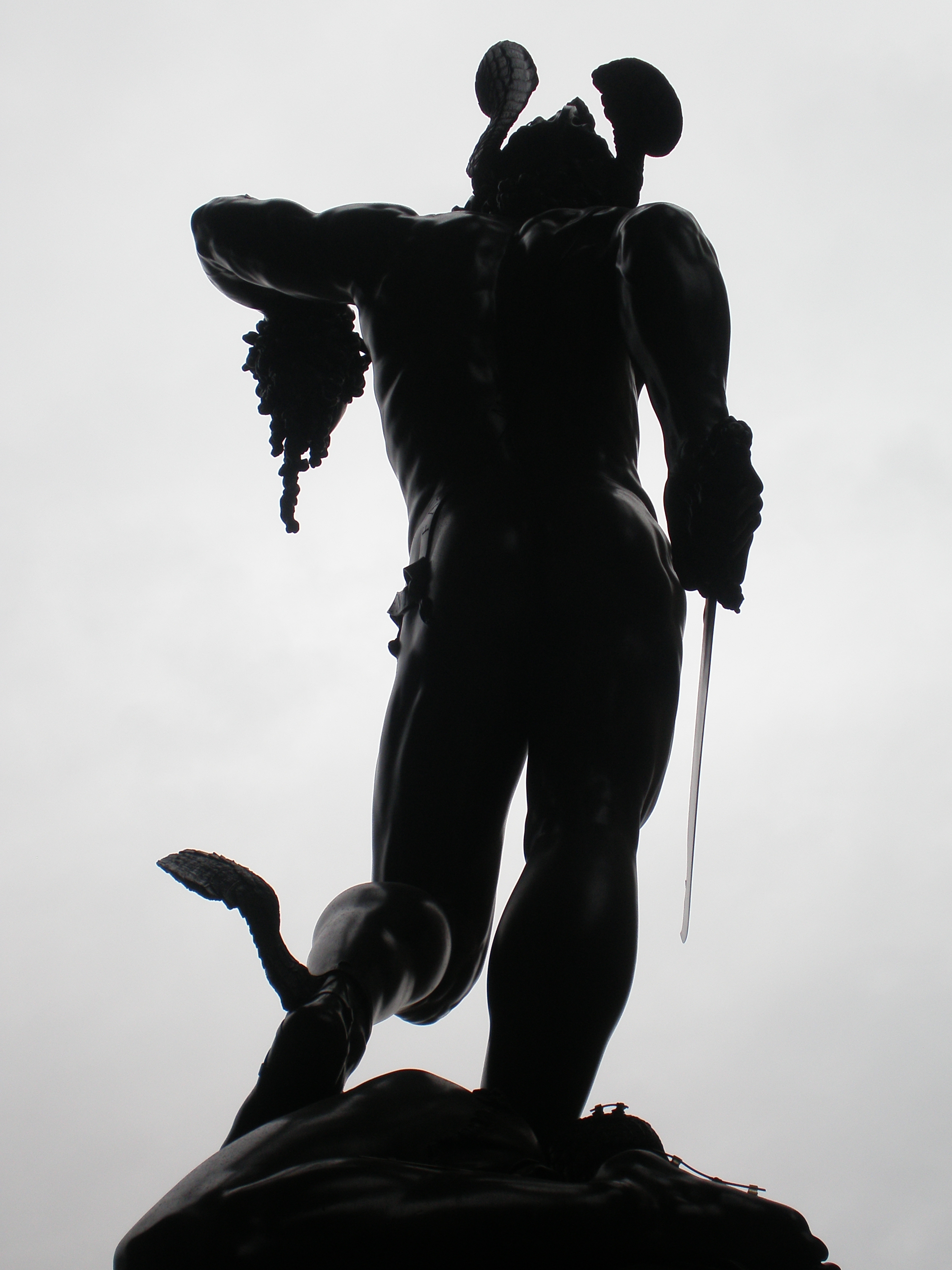 Perseus and Medusa statue in Florence