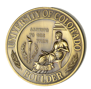 University of Colorado Boulder faculty medal