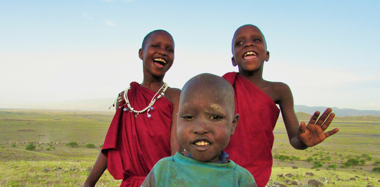 Photo of children in Tanzania