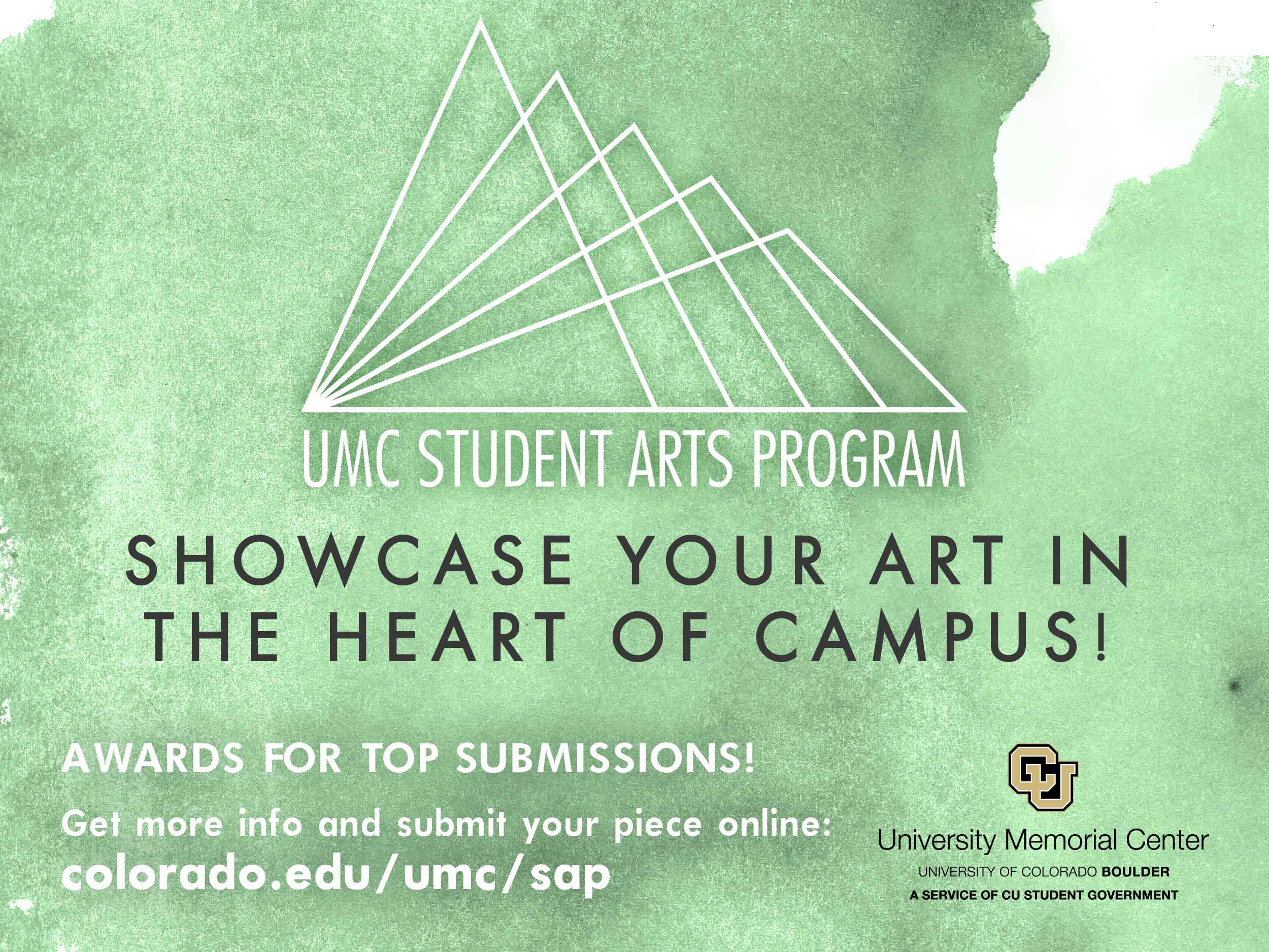 Showcase your art in the heart of campus!