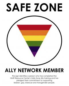 Safe Zone Ally Network logo