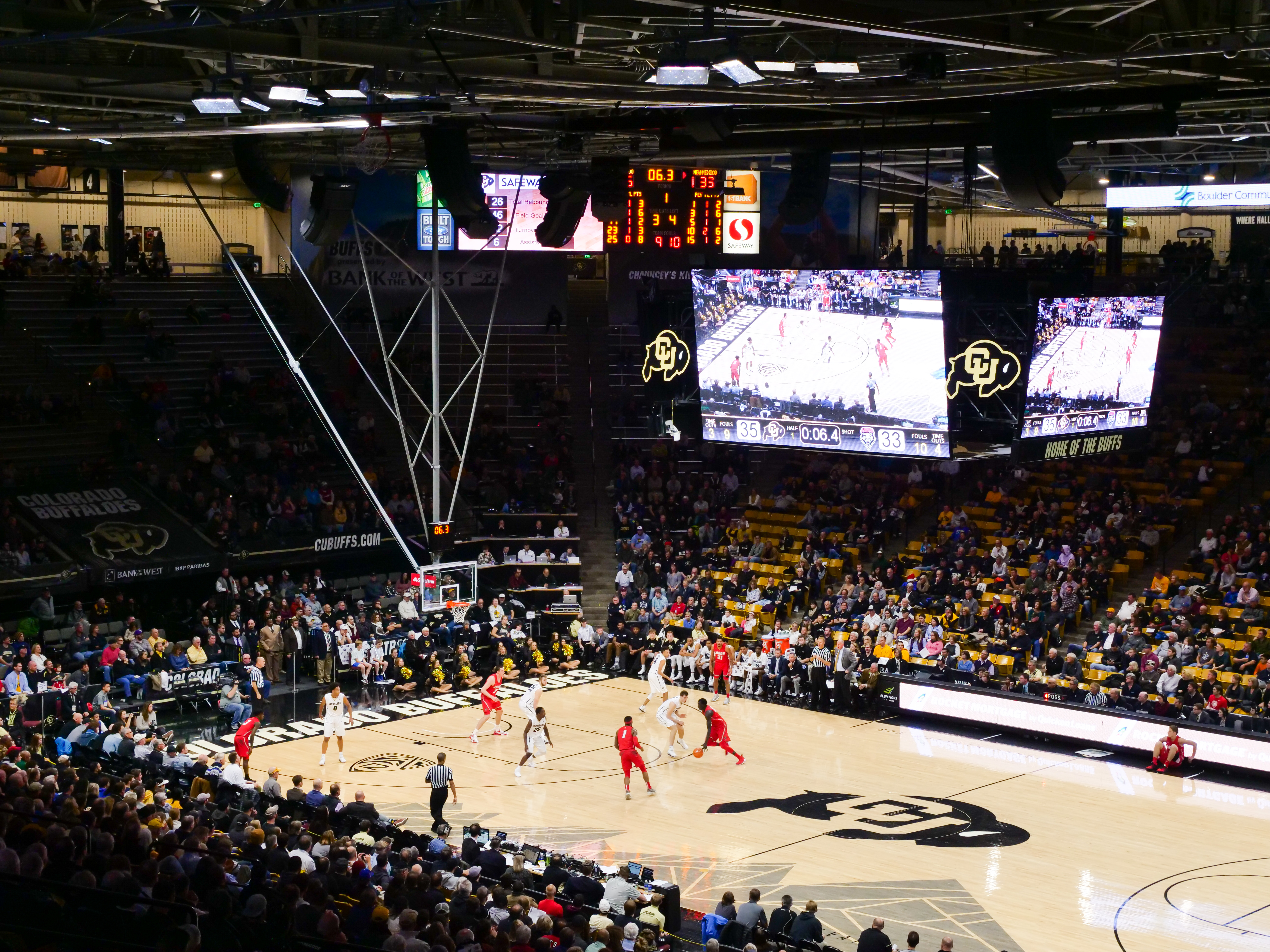 CU men's basketball game at the CU Events Center